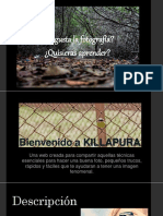 Texto promocional- Killapura