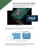 Cómo Funciona El Sensor de Una Cámara Digital