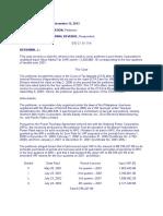 234. Luzon Hydro Corporation vs. Commissioner of Internal Revenue 709 SCRA 462 , November 13, 2013