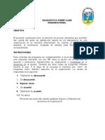 Diagnóstico Sobre Clima Organizacional