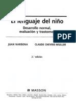 El Lenguaje Del Niño - Juan Narbona