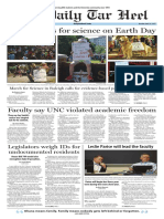 The Daily Tar Heel for April 24, 2017