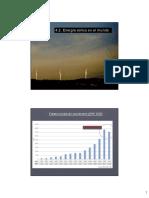 10- Energía Eólica en El Mundo