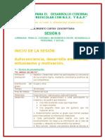 Seguimiento de Cartas Descriptivas Desarrollo Personal y Social