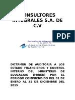 Dictamen Consultores Integrales s