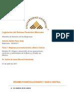 Tarea 1- Régimen posrevolucionario y Banco Central.docx