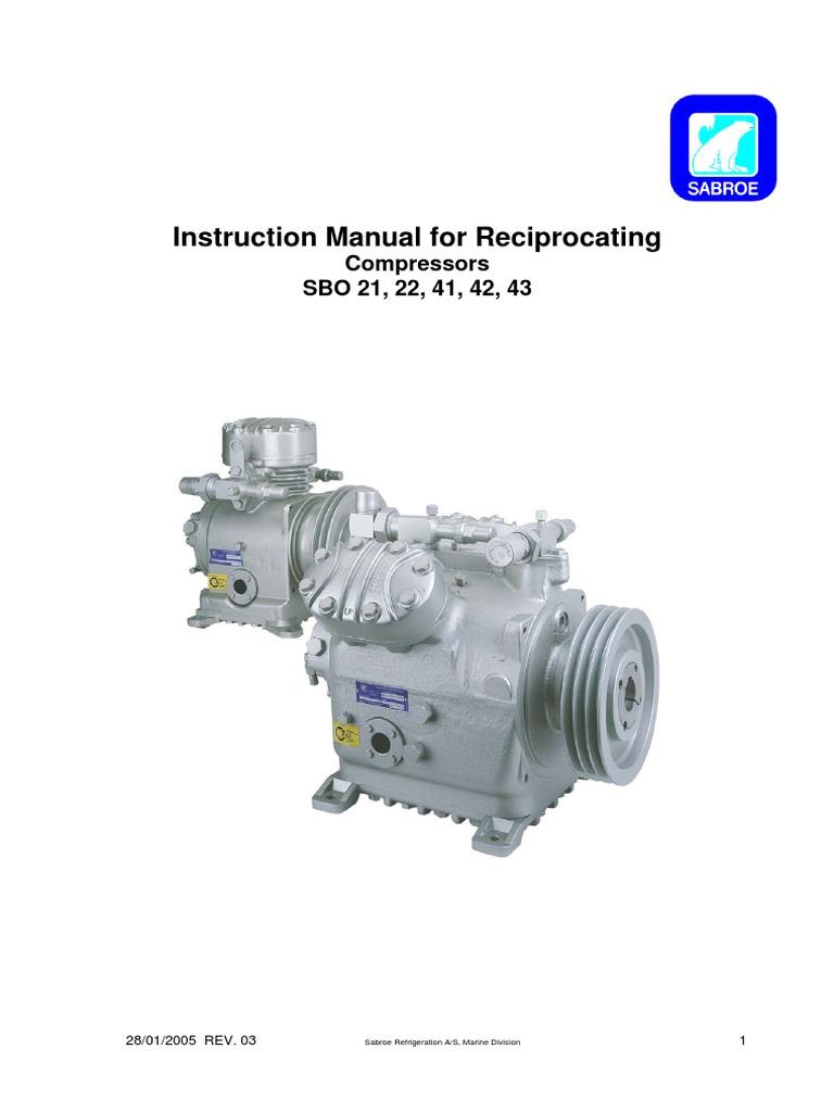 Instruction Manual (Sbo)   Gas Compressor   Applied And Interdisciplinary  Physics
