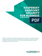1). Kaspersky Endpoint Security for Business DS
