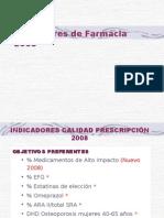 INDICADORES FARMACIA2008