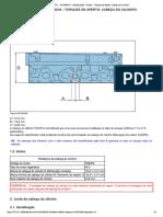 Peugeot  307 RESTYL  B1DB3NK1   Identificação e Informações do Aperto e Torque do Cabeçote