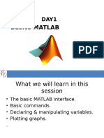 Day1 Matlab Basics