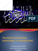 Traumatic Ic Hematomas & Management