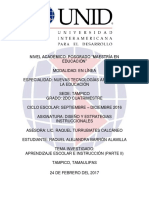 Aprendizaje Escolar e Instrucción (Pt. 2)