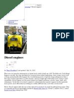 How Do Diesel Engines Work