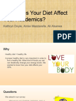 how does your diet affect your academics-