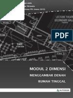 Download Modul Panduan Belajar AutoCAD Untuk Pemula Lengkap