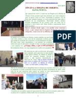Pregón en La Molina de Ubierna. Savia Nueva