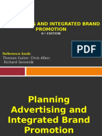 Advertising 8 Planning and Integrated Brand Promotion