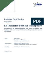 Rapport Final- ALBERT Pauline - Le Troisieme Pont Sur Le Bosphore