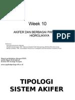 Groundwater Geology Week 10 2
