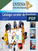 Csf Martie Rev catalogul surselor de finantare martie 2017 por