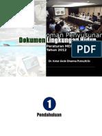 Permenlh No. 16 Tahun 2012-Penyusunan Dokumen Lingkungan