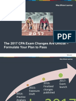 2017 CPA Exam Changes Are Official Webinar