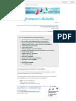 Info Bulletin 20.04.17