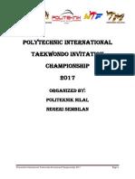 Polytechnic International Taekwondo Invitational Championship 2017