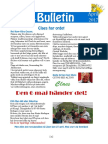 April Bulletinen