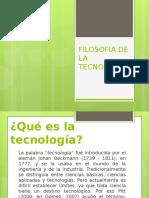 01 Filosofia de La Tecnologia