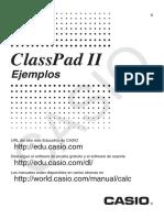 ClassPadII Ex ES