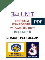 Vaibhav Kute 3rd Unit Industrial Analysis