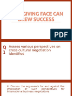 How Giving Face Can Brew Success
