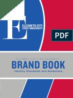 Elizabeth City State University - Brand Book