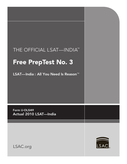 LSAT-Sample-Paper-4.pdf | Law School Admission Test | Law ...