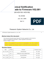 (for Web Portal) 02-022 Technical Notification HDV130 and HDV100 Upgrade to Firmware V02.081