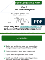 Lecture 7 - Global Talent Management