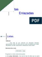 ListasEnlazadas - Estructura de Datos