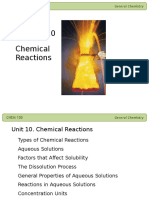 10 Chemical Reactions II