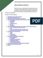 Basics of Reverse Osmosis (Puretec)