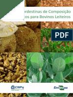 Livro Tabelas Nordestinas de Composicao de Alimentos