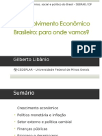 Gilberto Libanio - Desenvol Econ Brasil