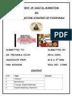 Digital Marketing Assignment