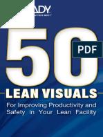 Brady 50 Lean Visuals PocketBook Europe English