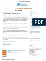 1. WHO _ Childhood Overweight and Obesity