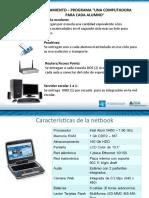 Presentación equipamiento y sitio web