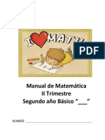 Manual de matemática2°básicoIIT V15
