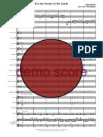 For the Beauty of the Earth Brassband Score.bak