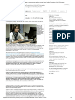 _ El Peronismo Como Objeto de Estudio en Clave Histórica y SocialCentro Científico Tecnológico CONICET Nordeste